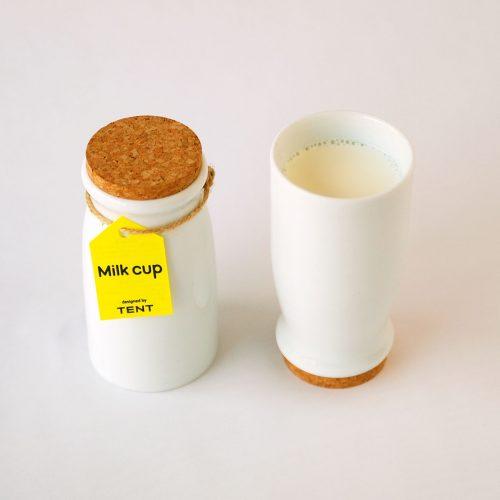 TENT Milk cup