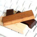 お菓子のような木製USBメモリ「Chocolat」